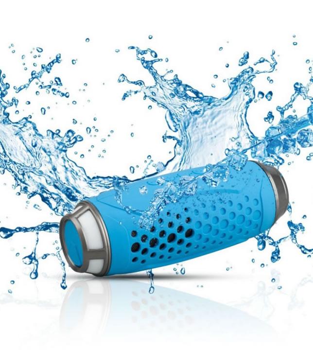 Anti shock and an dust wireless speaker