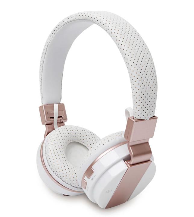 PU leather wireless headphone