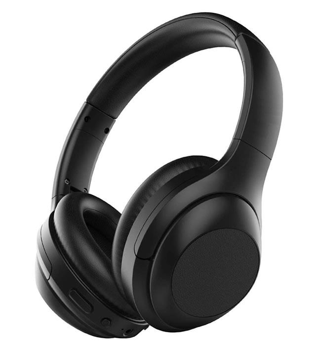 LED light noise cancelling headphone