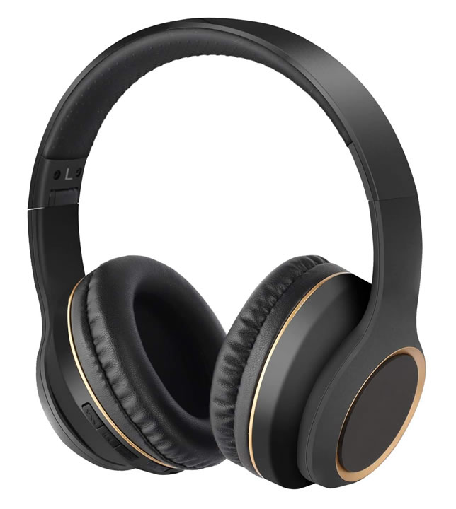 Folable noise cancelling headphone