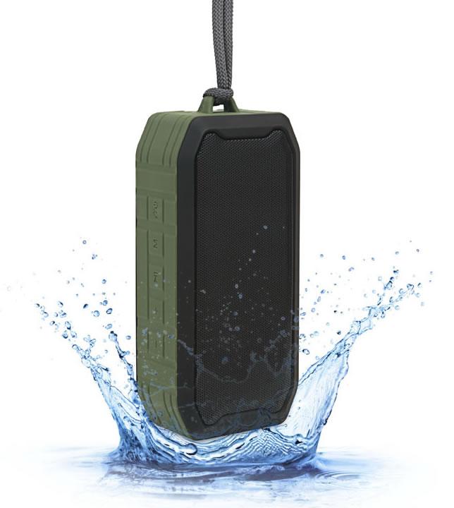 IP67 Disco dancing light wireless speaker