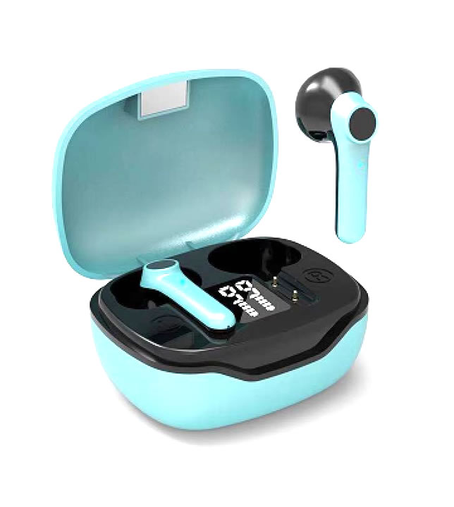 True Bluetooth Earbuds With LED